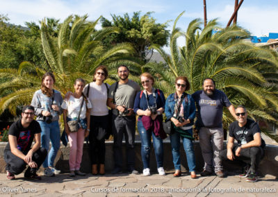 Curso iniciación a fotografía de naturaleza Mayo 2018
