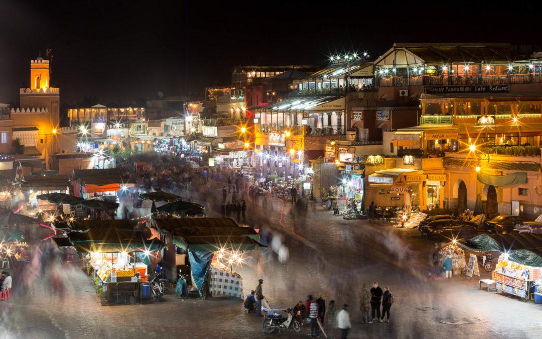Fotografiar en Marrakech, la Plaza de Yamaa el Fna