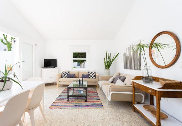 Fotografía de interiores. Casa de verano