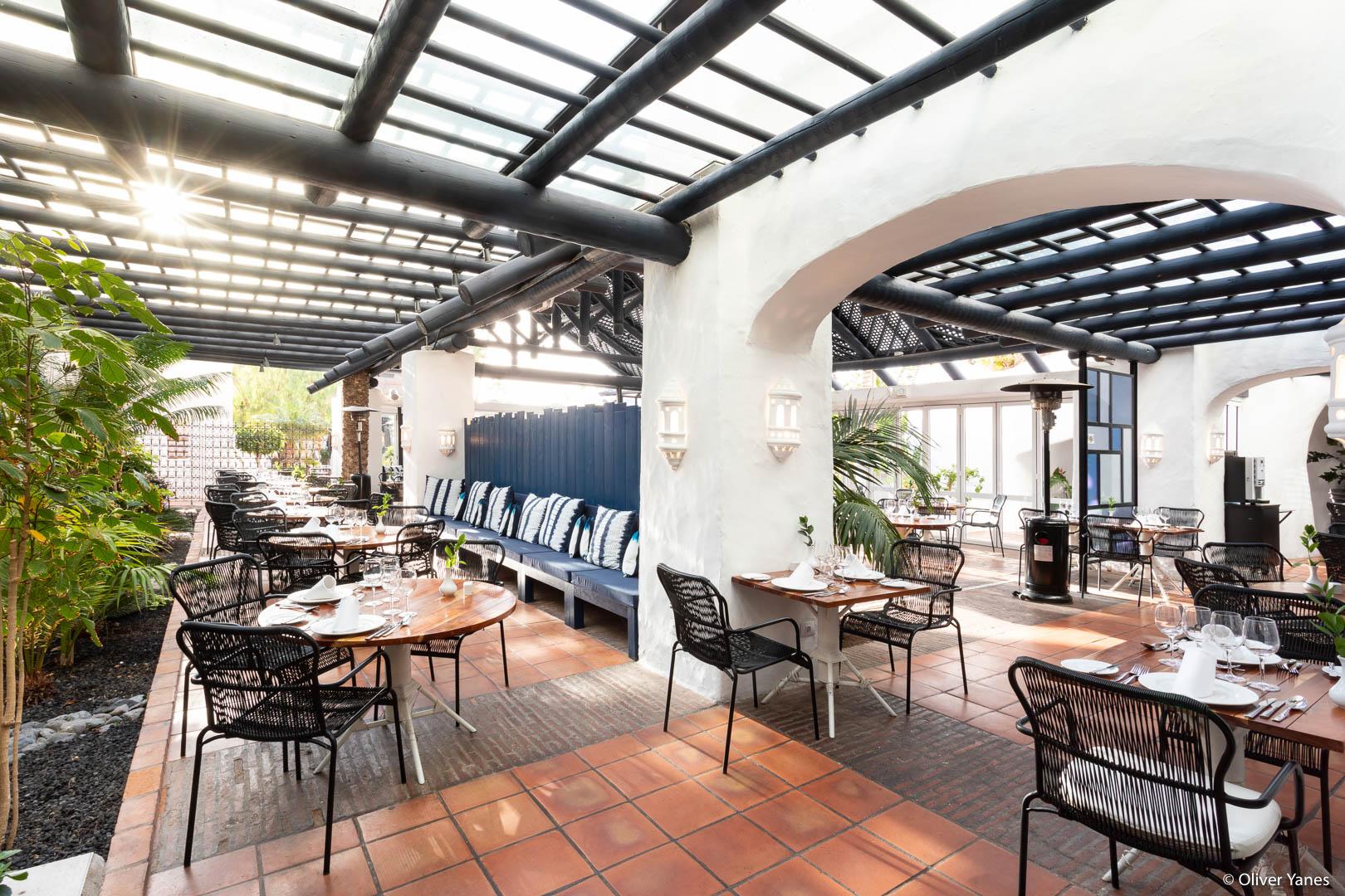 Comedor Hotel Jardín Tropical