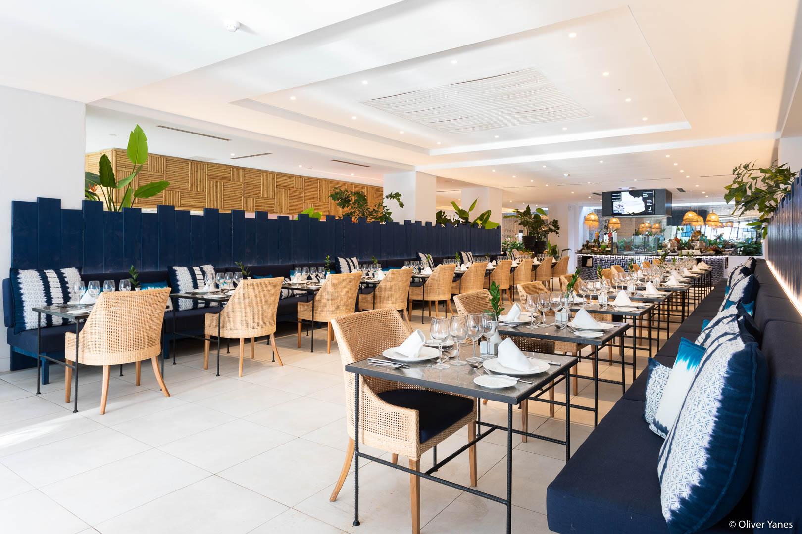Comedor en Hotel Jardín Tropical