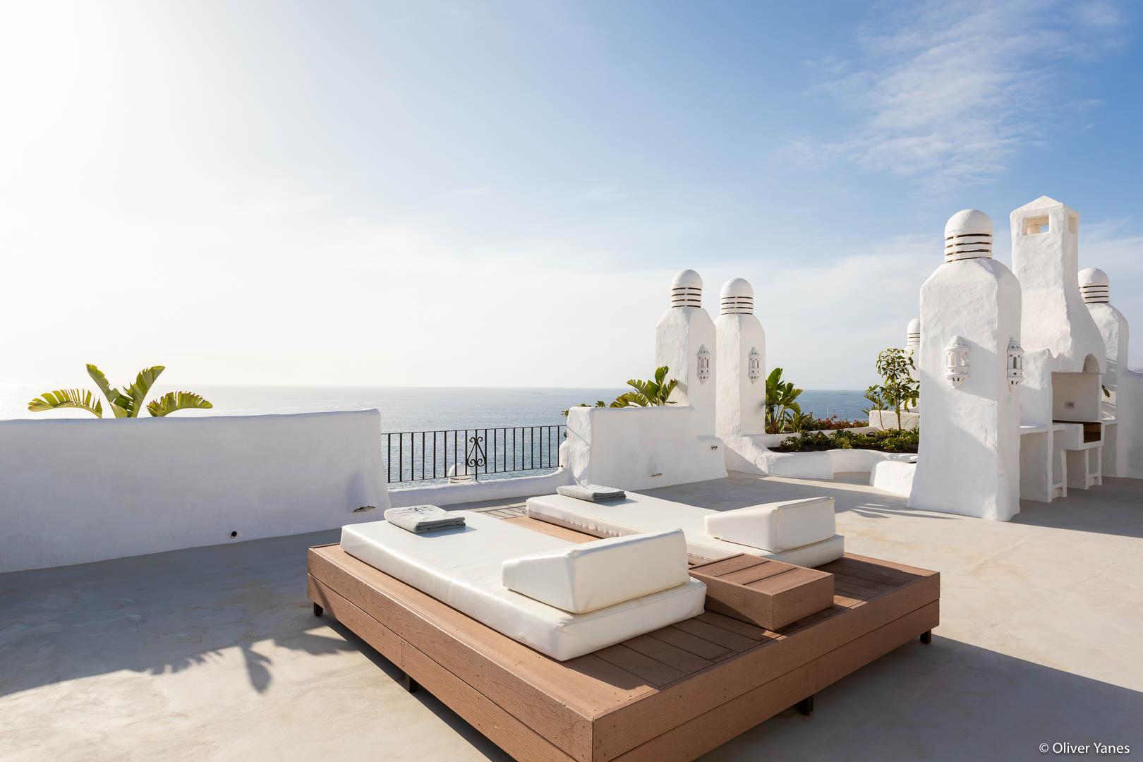 Terraza suite Hotel Jardín Tropical
