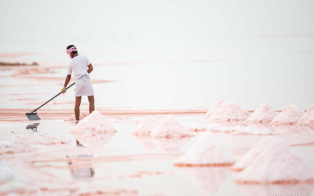 La sal rosa de Omán